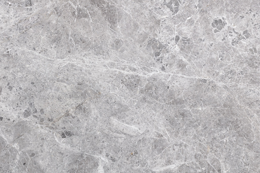Full frame gray marble texture and background