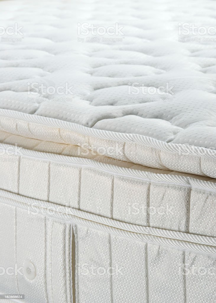 High quality mattress royalty-free stock photo
