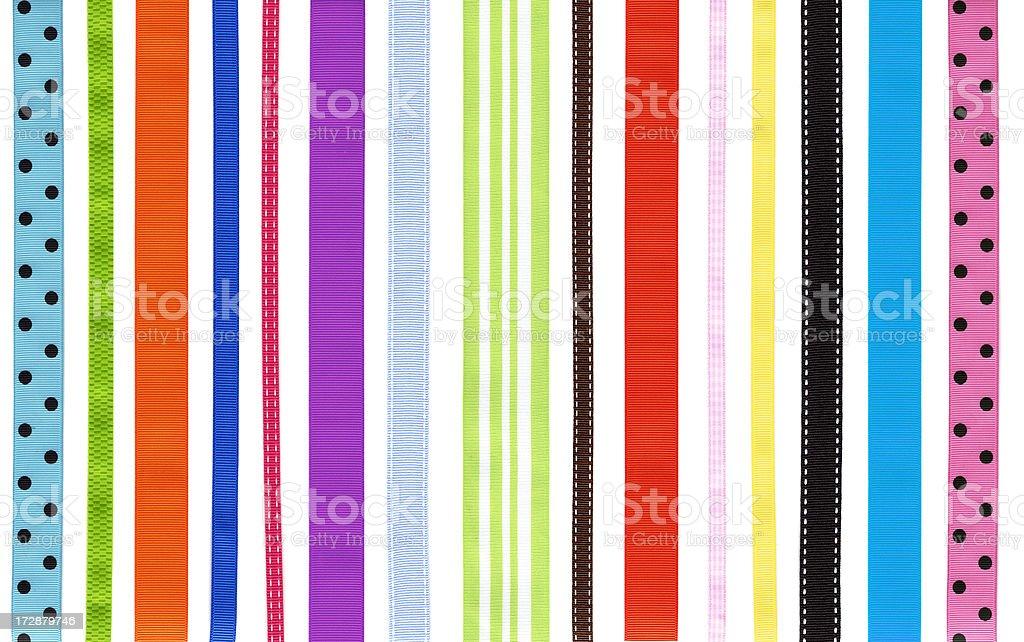 High Res Ribbon Rainbow royalty-free stock photo