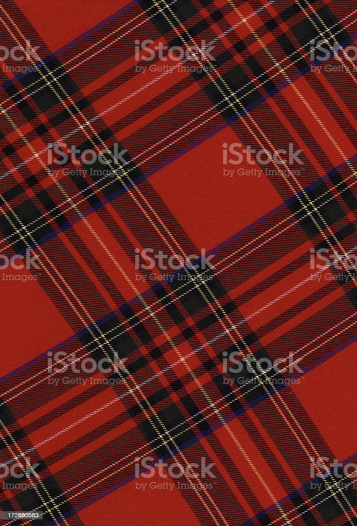 XXL High resloution plaid fabric royalty-free stock photo