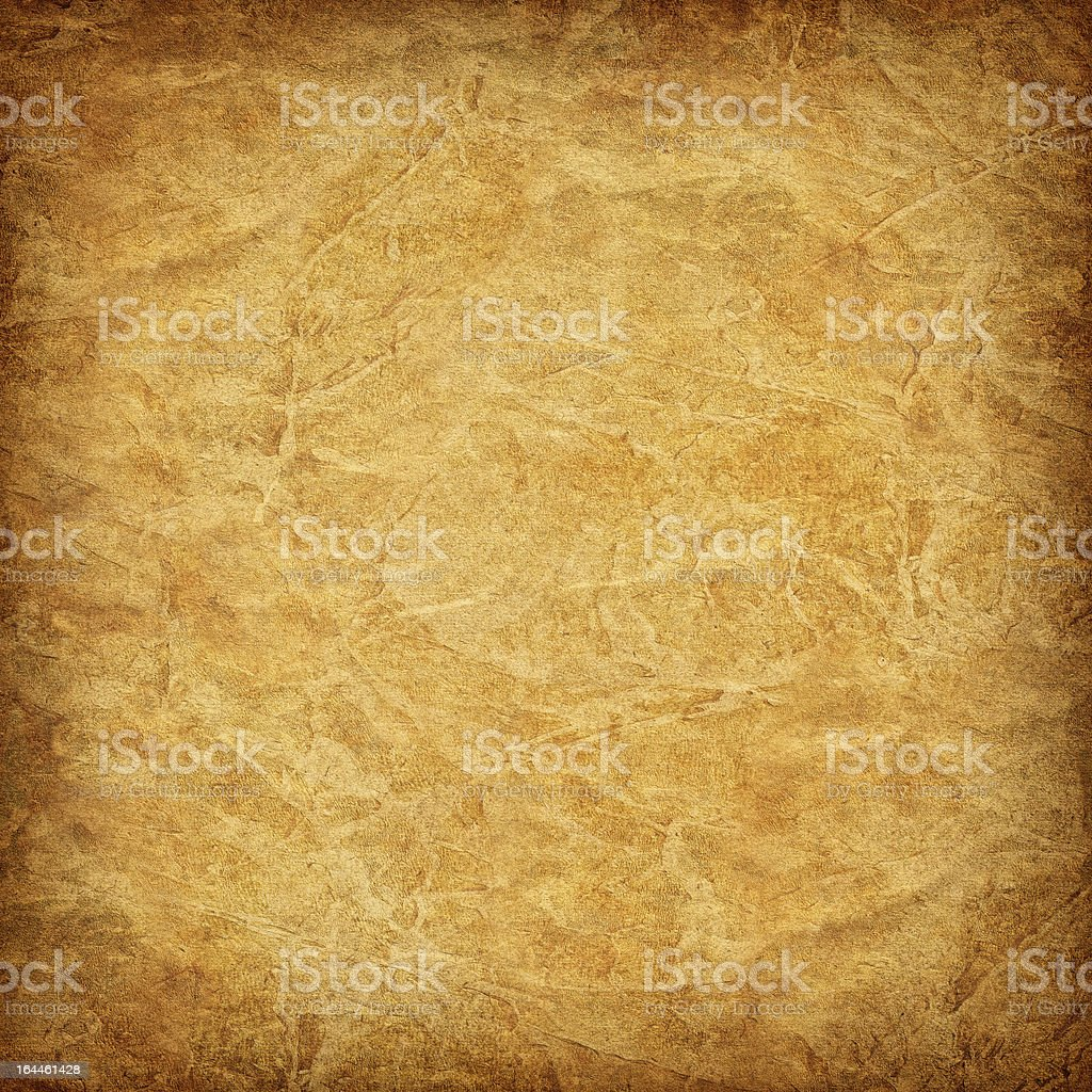 High Resolution Antique Parchment Vignette Grunge Texture royalty-free stock photo