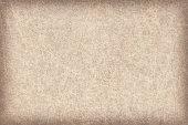 High resolution Beige Antique Animal Skin Parchment vignette grunge texture sample.