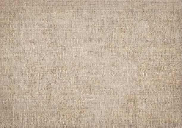 de alta resolução tela de linho natural grunge textura - lona têxtil imagens e fotografias de stock
