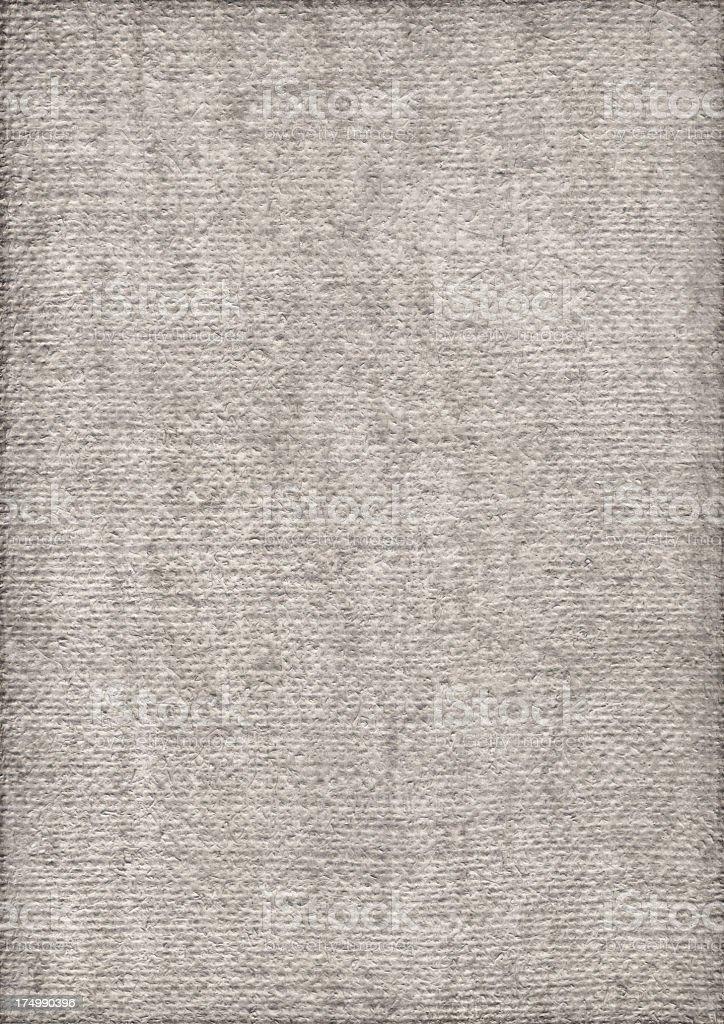 High Resolution Artist Primed Jute Canvas Coarse Vignette Grunge Texture royalty-free stock photo