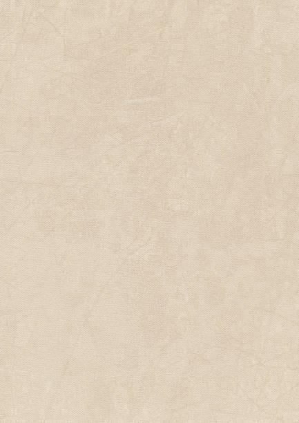 High Resolution Artist's Acrylic Primed Cotton Duck Canvas Grunge Sample stock photo