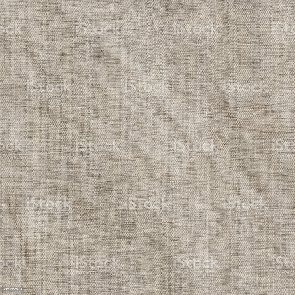 Extra large scanned image of artist\'s crumpled linen duck high...