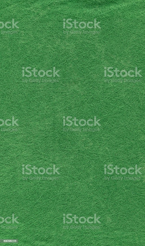 high resolution background of fiber mesh textured green paper royalty-free stock photo
