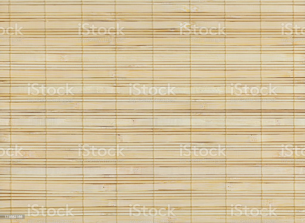 High resolution bamboo mat royalty-free stock photo