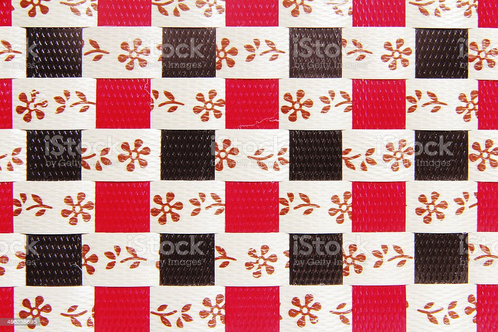 High resolution basket weave texture stock photo