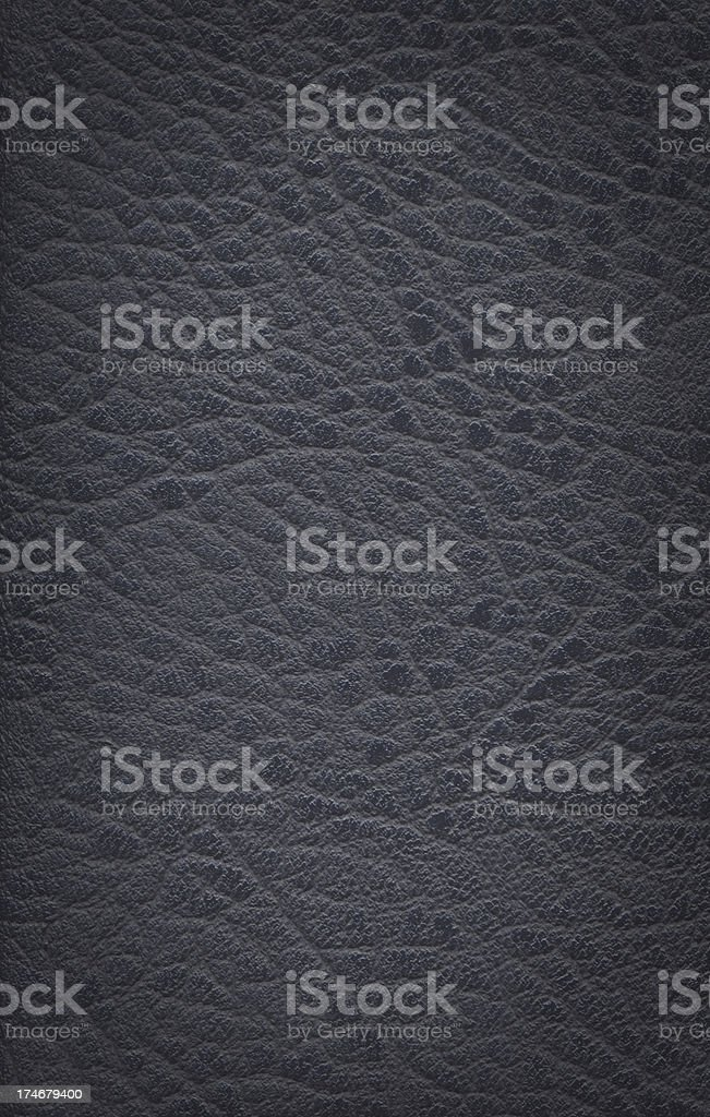 High resolution black Leather royalty-free stock photo