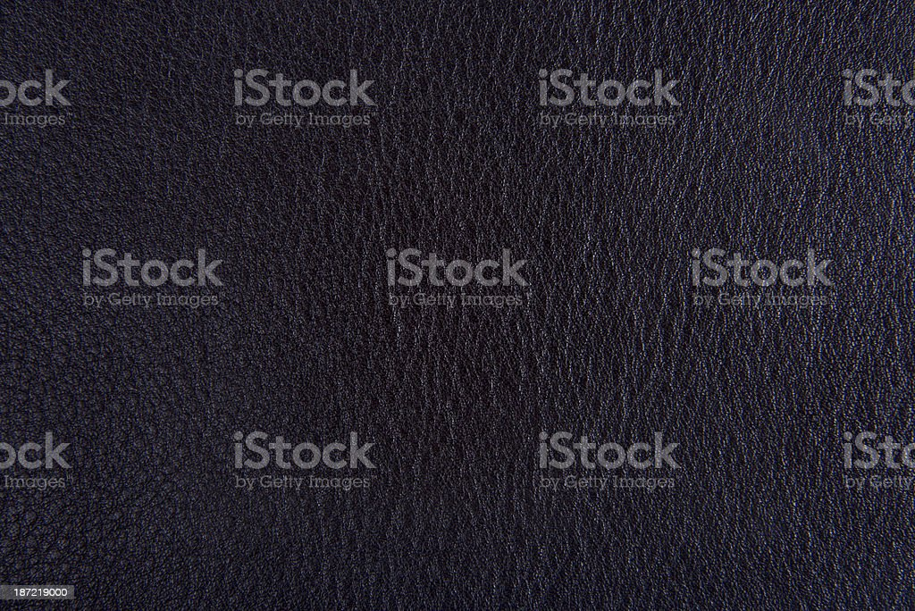 High Resolution Black Leather Texture royalty-free stock photo