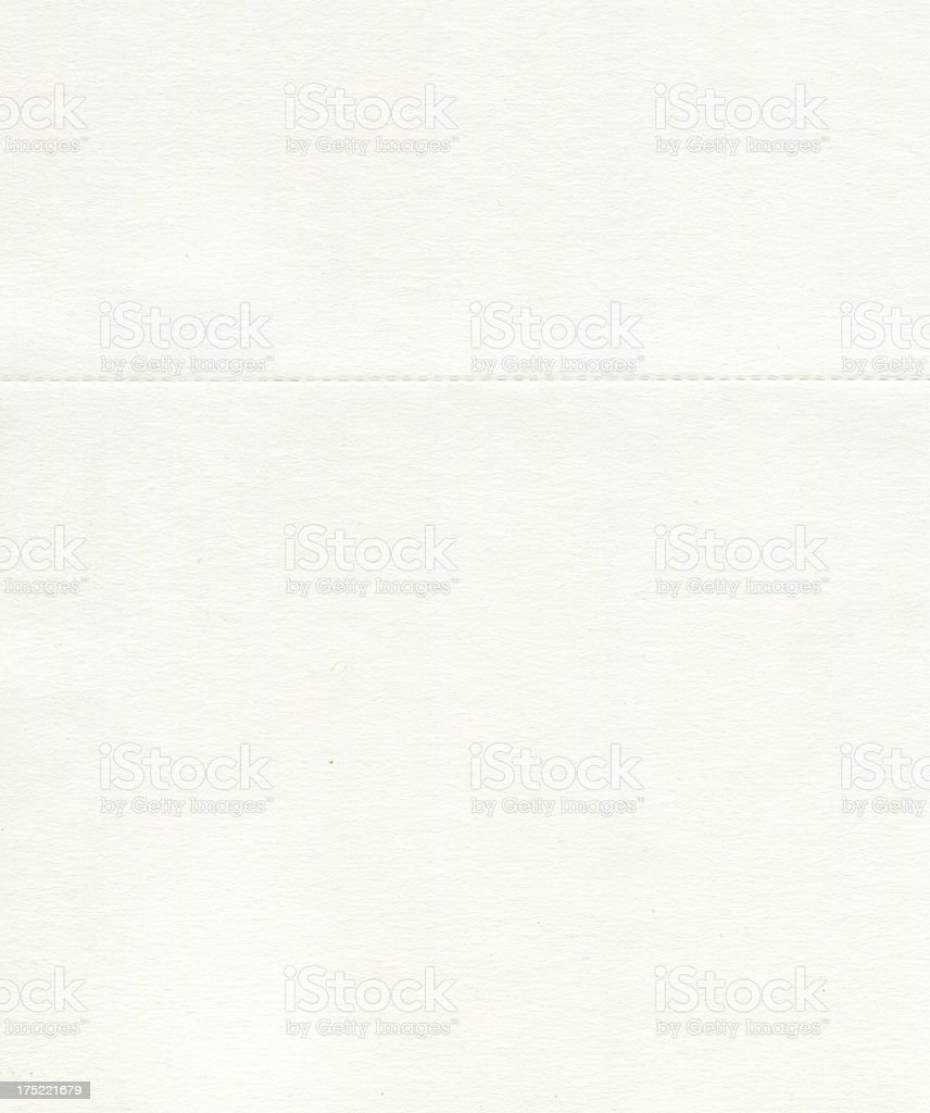 High resolution blank paper with broken line royalty-free stock photo
