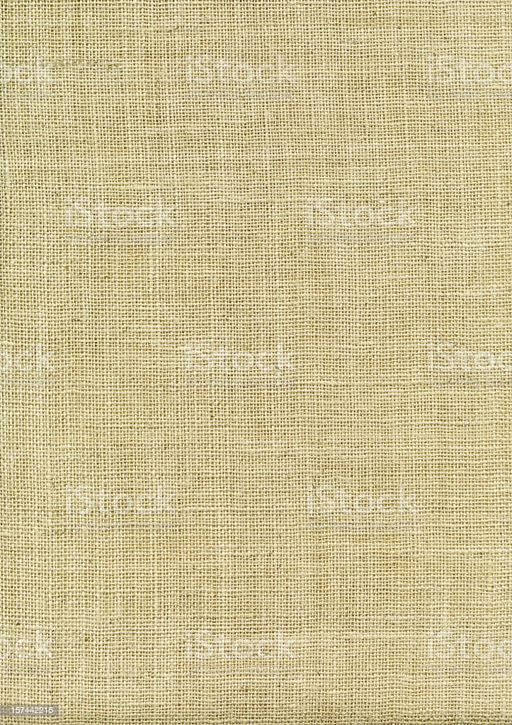 High Resolution Bleached Burlap royalty-free stock photo