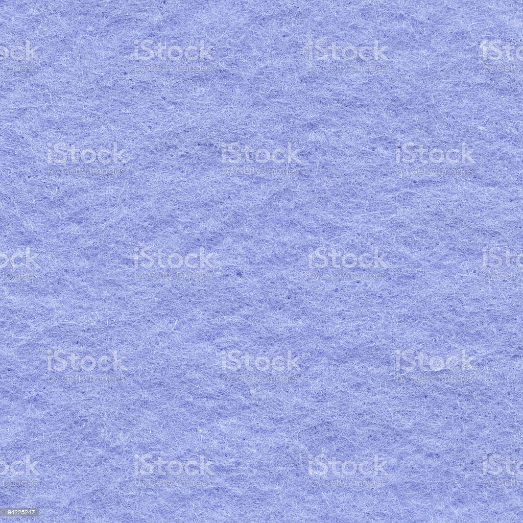 High resolution blue felt surface background royalty-free stock photo