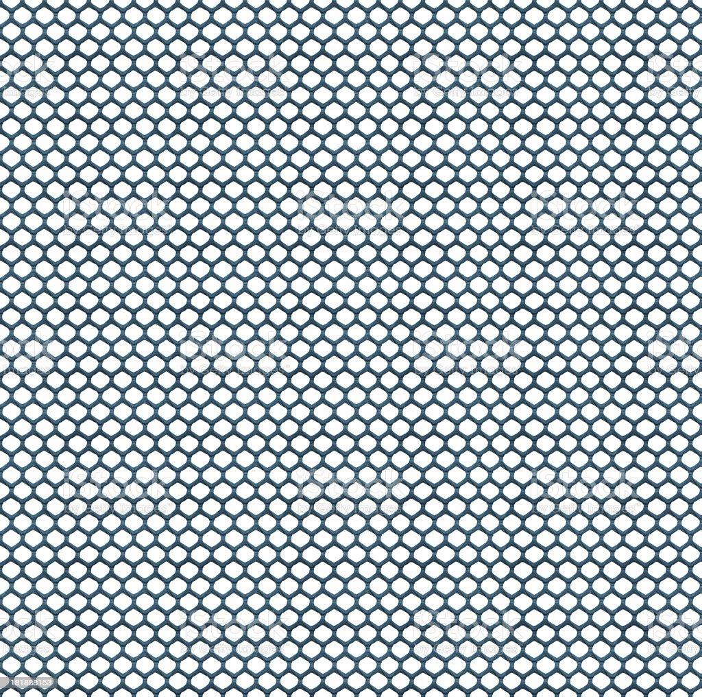 High Resolution Blue Hexagon Textile royalty-free stock photo
