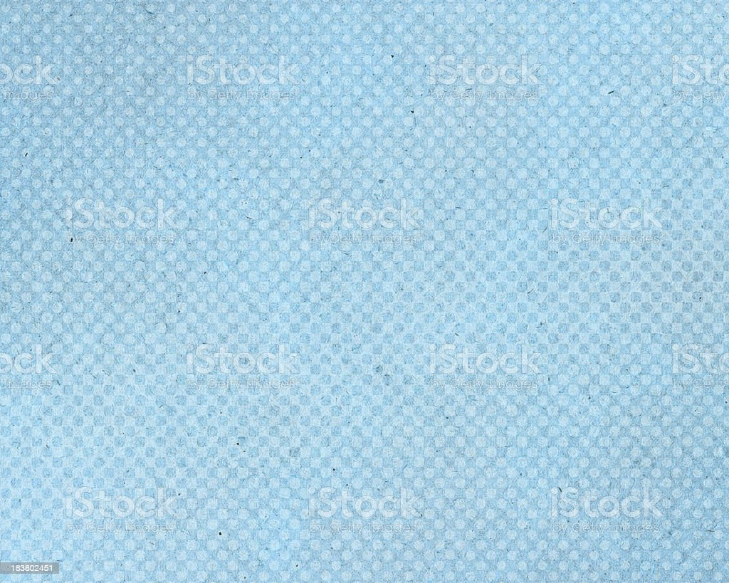 High resolution blue vintage paper with halftone stock photo