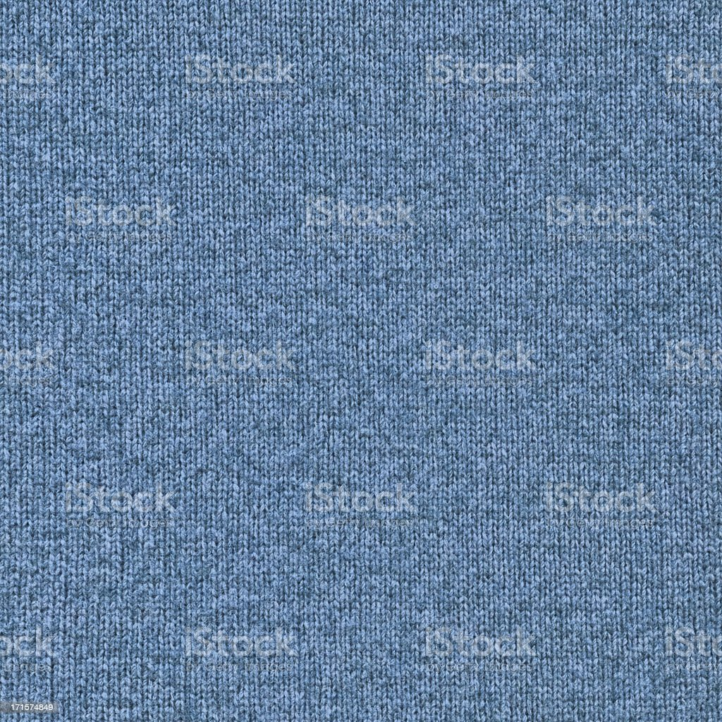 High Resolution Blue Woolen Woven Fabric Texture Sample royalty-free stock photo