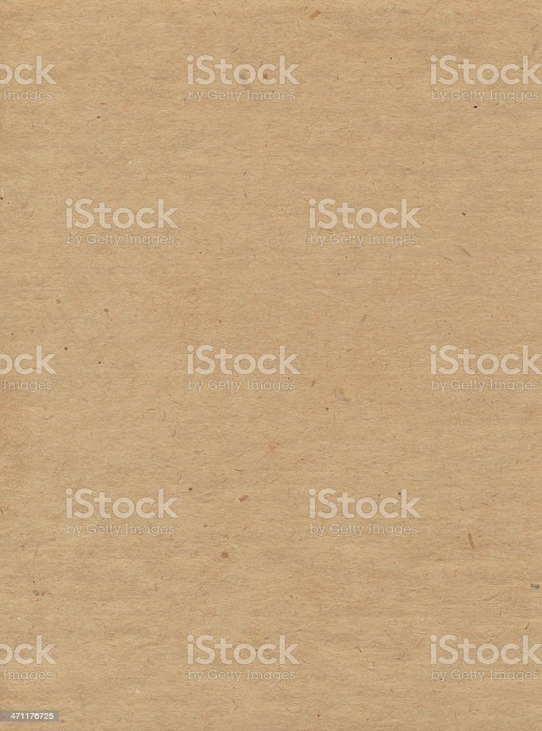 High resolution brown recycled paper royalty-free stock photo