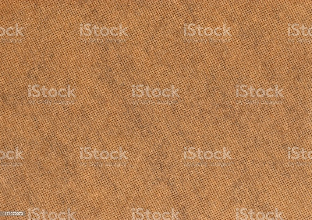 High Resolution Brown Striped Kraft Paper Grunge Texture royalty-free stock photo