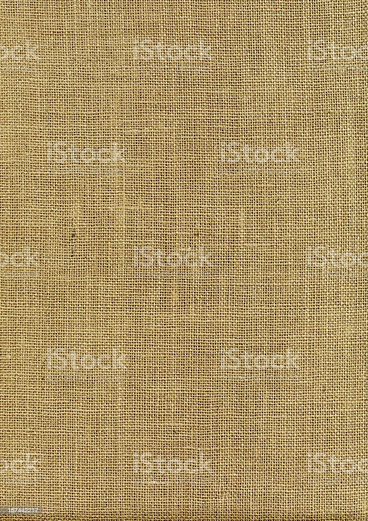 High Resolution Burlap XXXL royalty-free stock photo