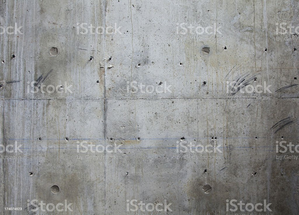 High resolution concrete wall​​​ foto
