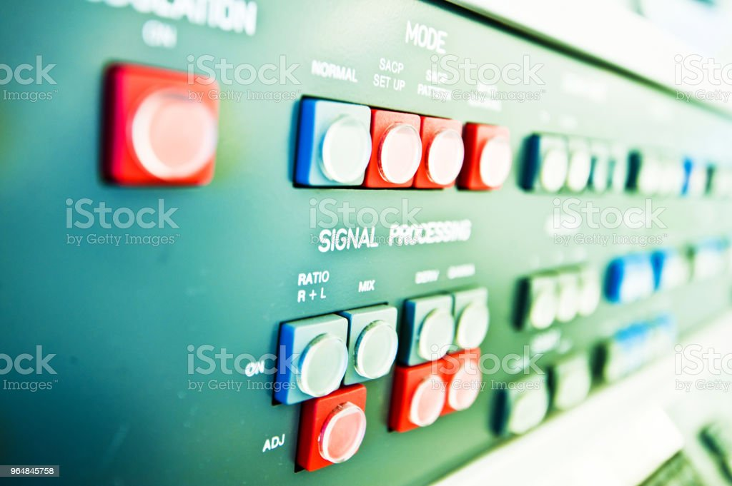 High Resolution Console In Control Room - Measurement and...