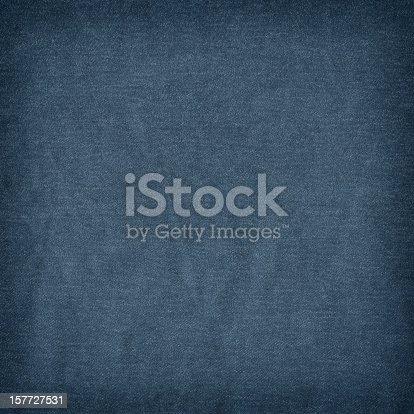istock High Resolution Deep Blue Denim Crumpled Grunge Texture Sample 157727531