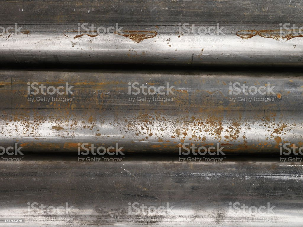 high Resolution Detail of Rusty Pipes Background royalty-free stock photo