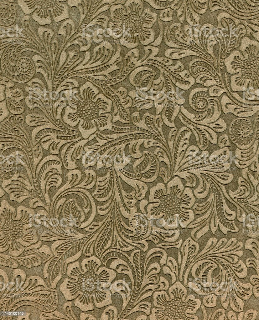 High Resolution Embossed Suede with Pattern royalty-free stock photo