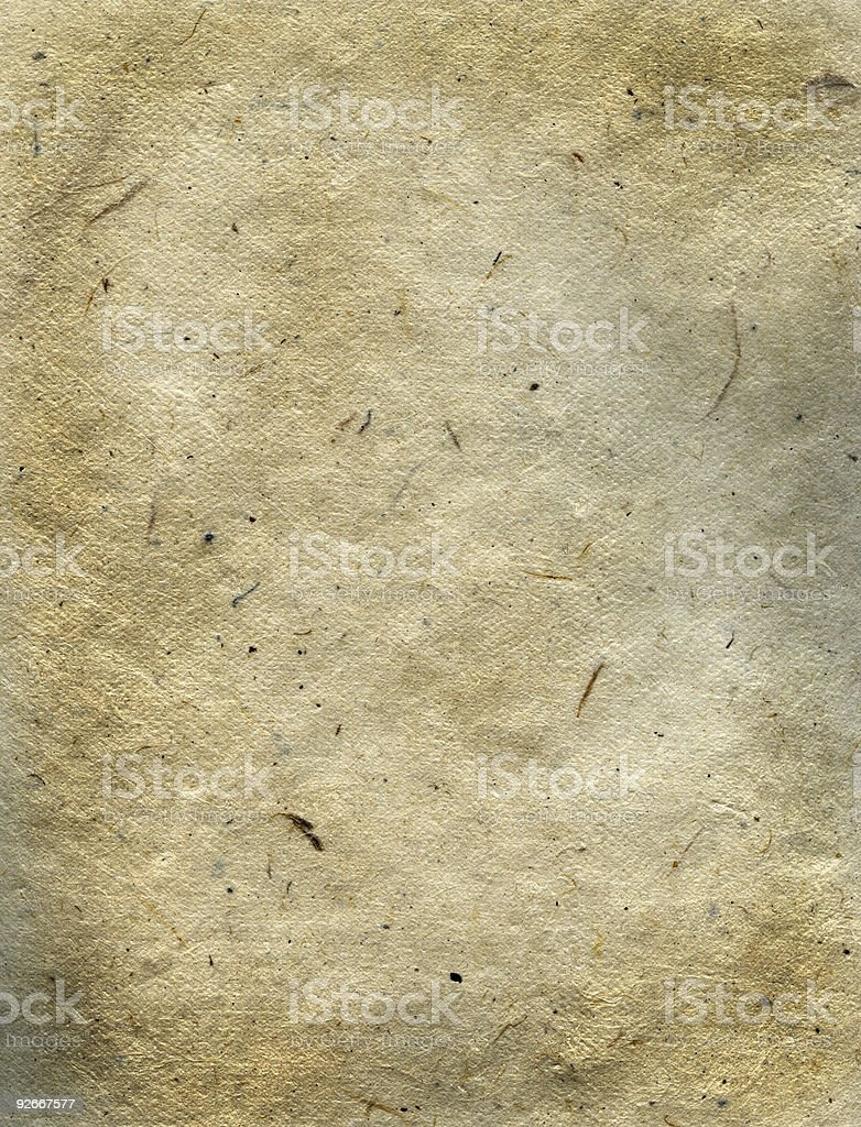 High Resolution Fibrous Rice Paper royalty-free stock photo