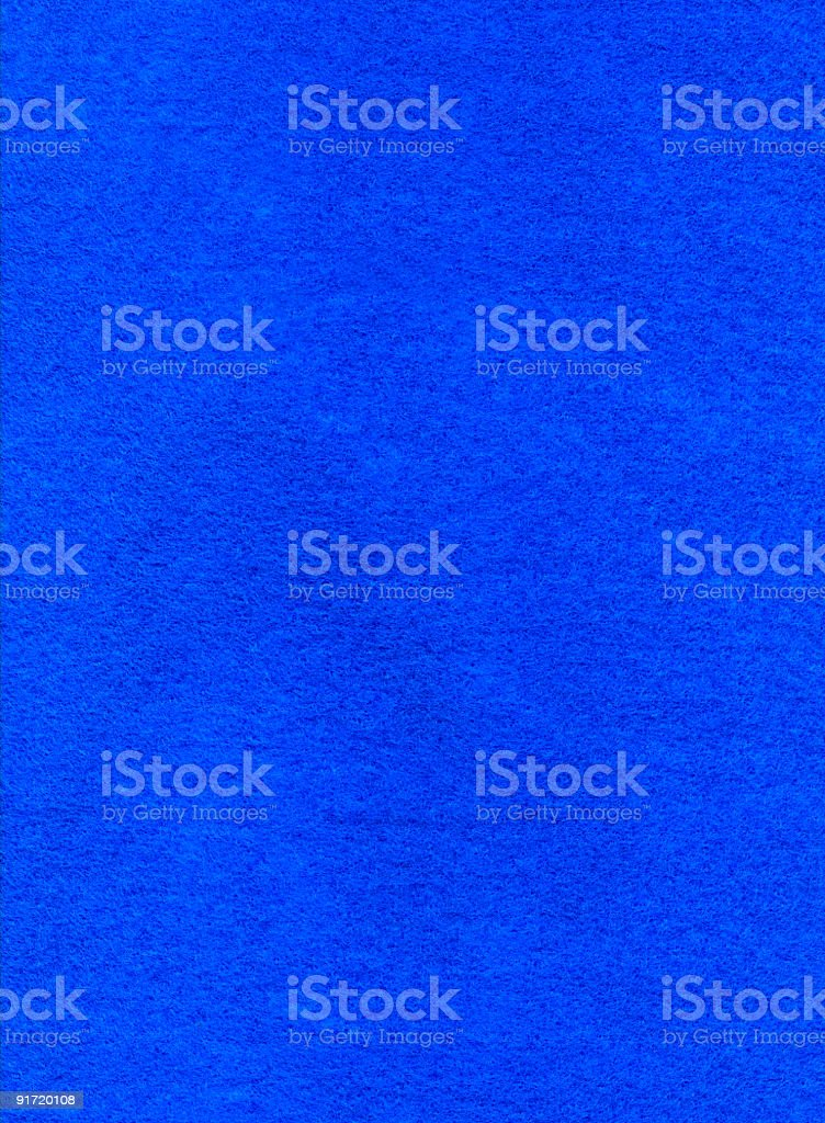 high resolution full frame background scan of blue felt fabric royalty-free stock photo