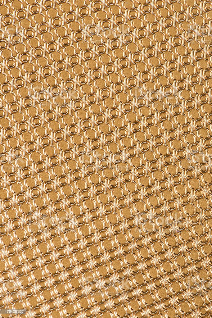 High resolution gold  pattern paper stock photo