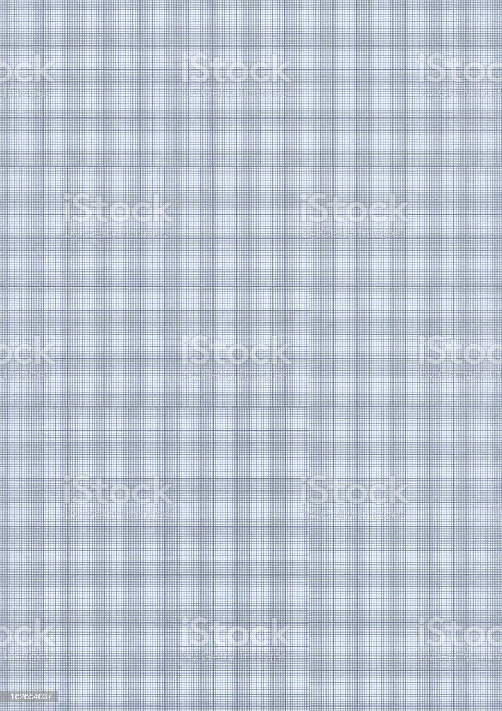 High Resolution Graph Millimeter Paper Texture Sample royalty-free stock photo