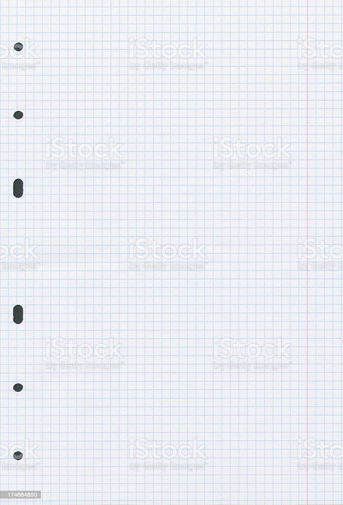 High resolution graph paper royalty-free stock photo