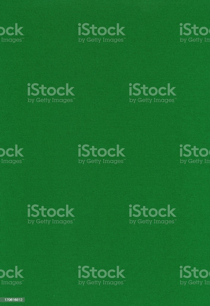 High resolution green cotton textile stock photo
