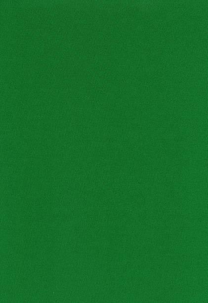 High resolution green cotton textile stock photo