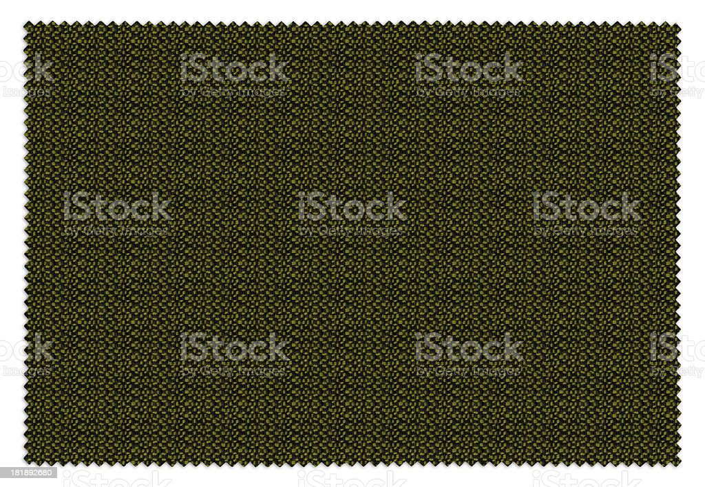 High Resolution Green Swatch royalty-free stock photo