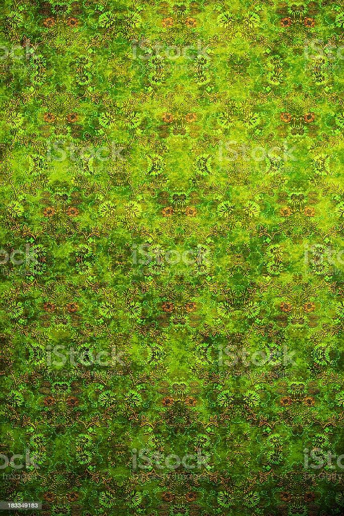 High Resolution Green Vintage Wallpaper stock photo