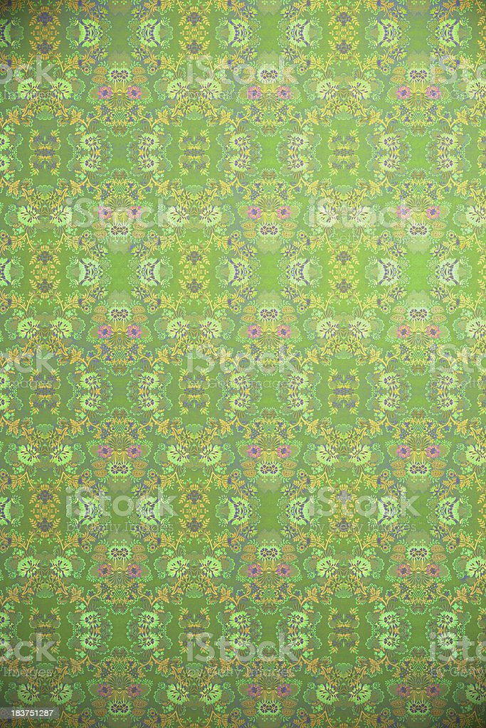 High Resolution Green Vintage Wallpaper stock photo