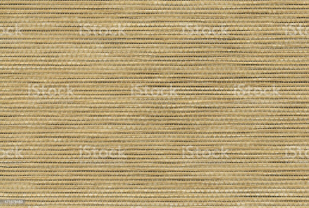 High resolution natural thatch fabric royalty-free stock photo