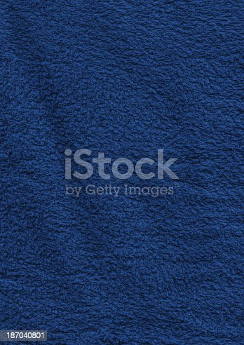 istock High Resolution Navy Blue Toweling Terrycloth Crumpled Texture Sample 187040801