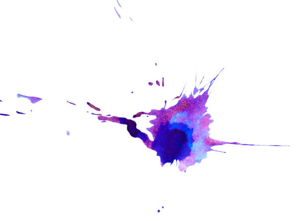High resolution of Ink blot stock photo