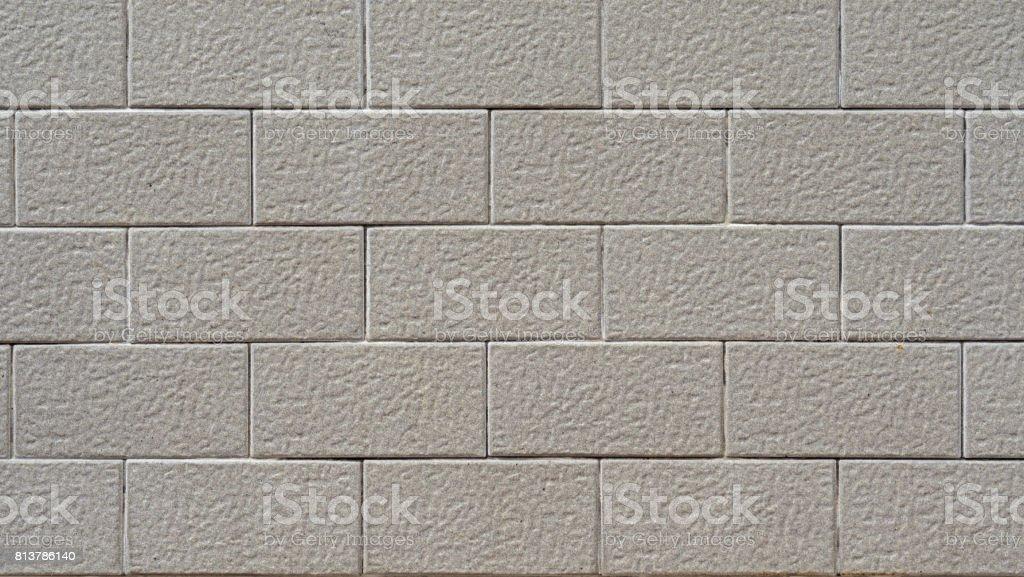 High Resolution of Modular Brick Look Tiles stock photo