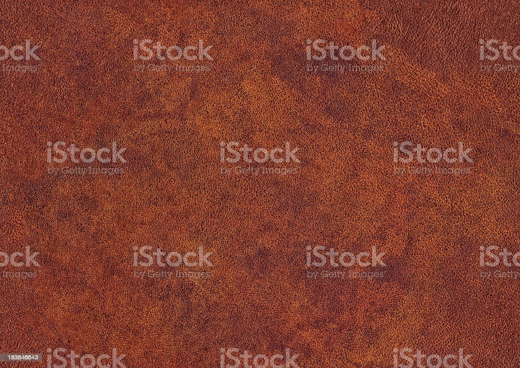 High Resolution Old Maroon Red Cowhide Seamless Grunge Texture royalty-free stock photo