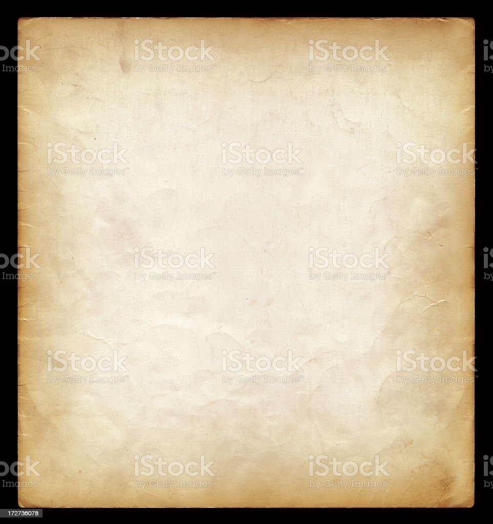 High resolution old paper background royalty-free stock photo