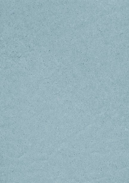 High Resolution Old Recycled Blue Kraft Paper Grunge Texture stock photo