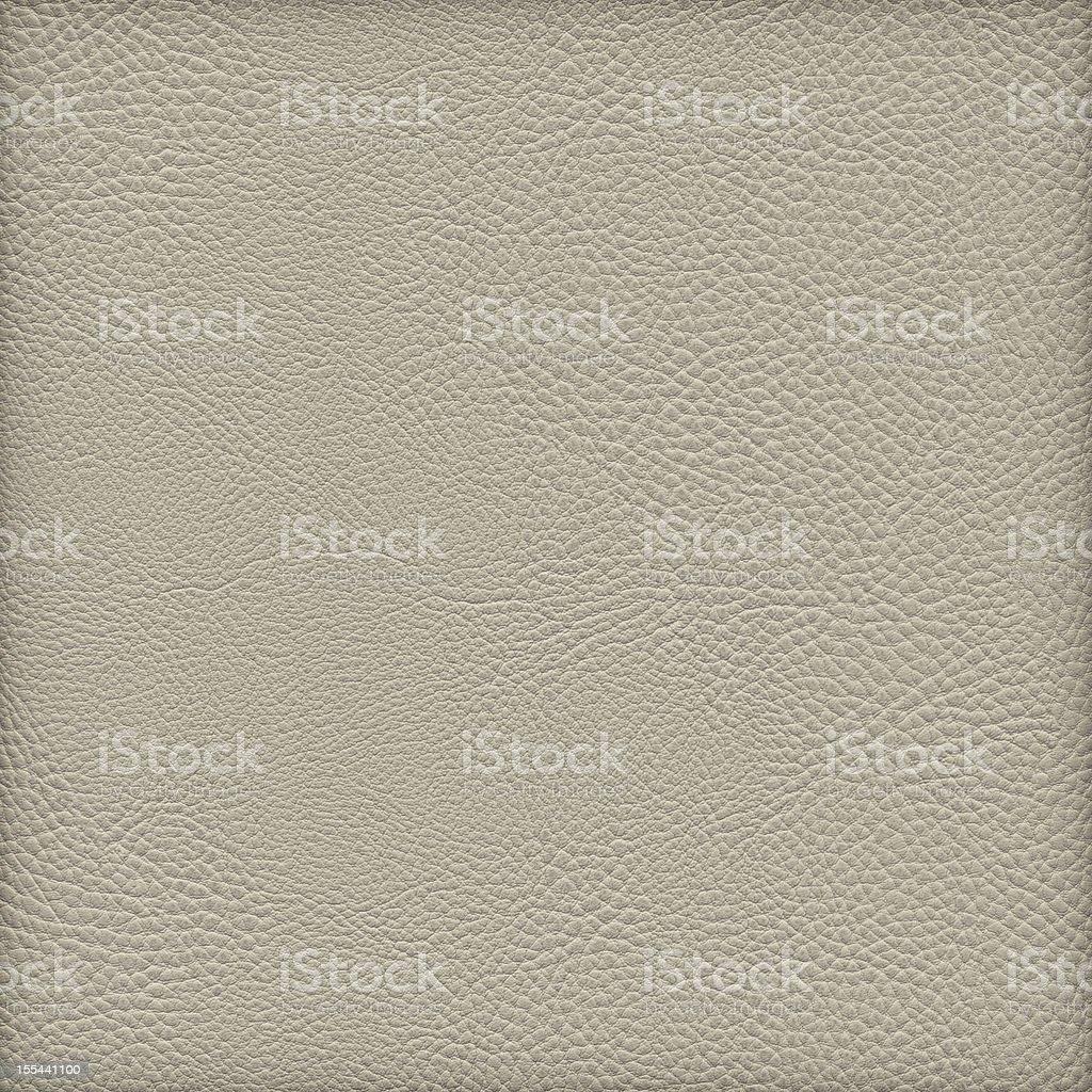 High Resolution Pale Beige Naugahyde Crumpled Vignette Grunge Texture stock photo