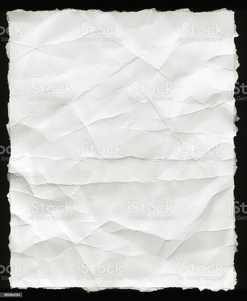 High resolution paper royalty-free stock photo