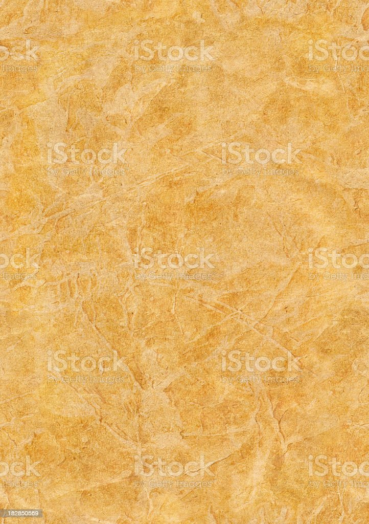 High Resolution Parchment (Vellum) Grunge Texture royalty-free stock photo