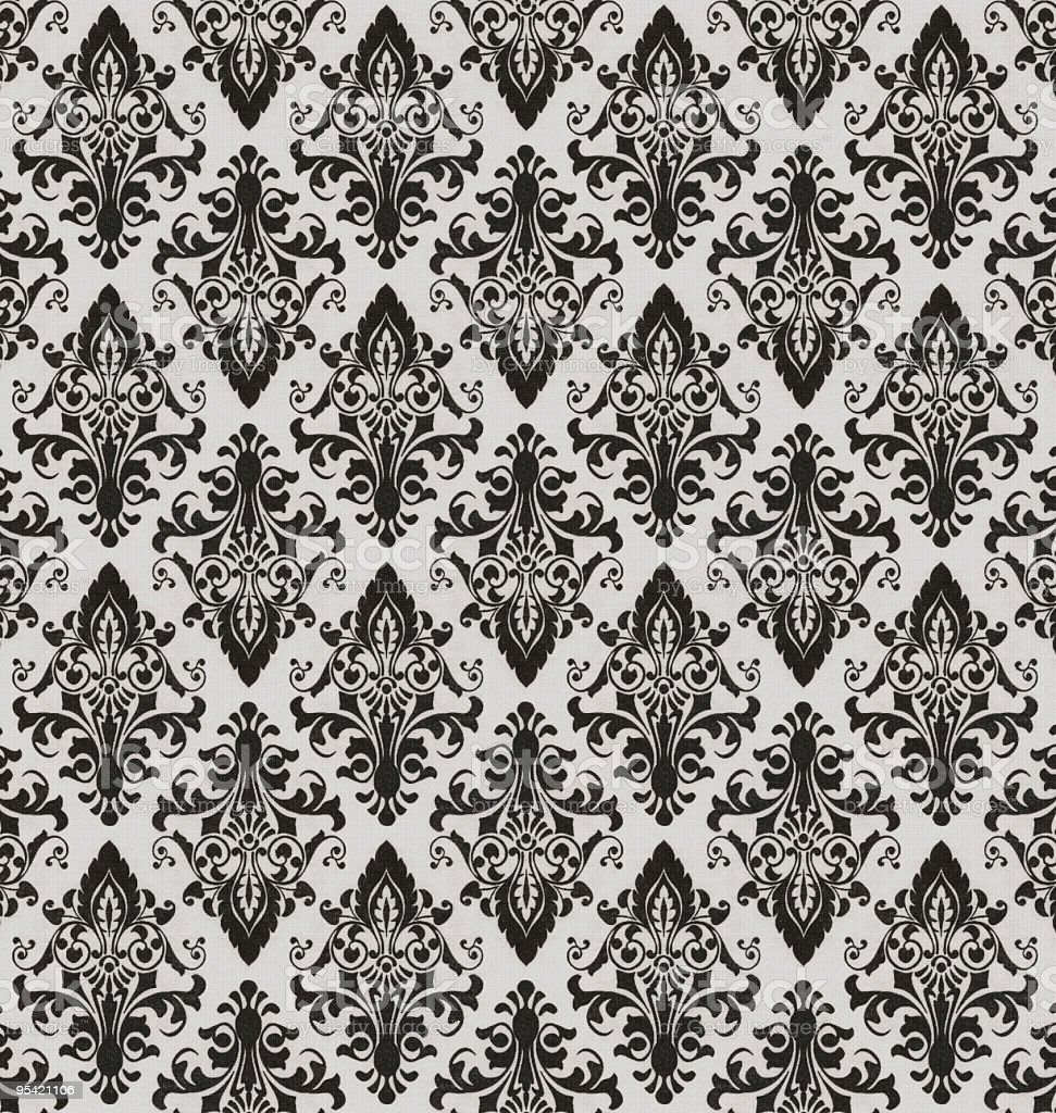 High Resolution Patterned Wallpaper Royalty Free Stock Photo